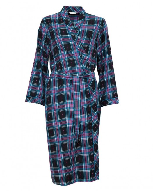 Халат женский Cyberjammies Ezme 4265 Black Mix